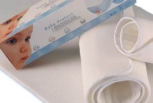 Aerosleep Baby Matras : Aerosleep protect dekmatras chicco next me en lulla go maatwerk