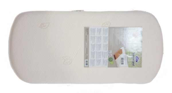 Matras Voor Wieg : Biologische wiegmatras 36x78 cm ovaal 100% organic eco matras voor