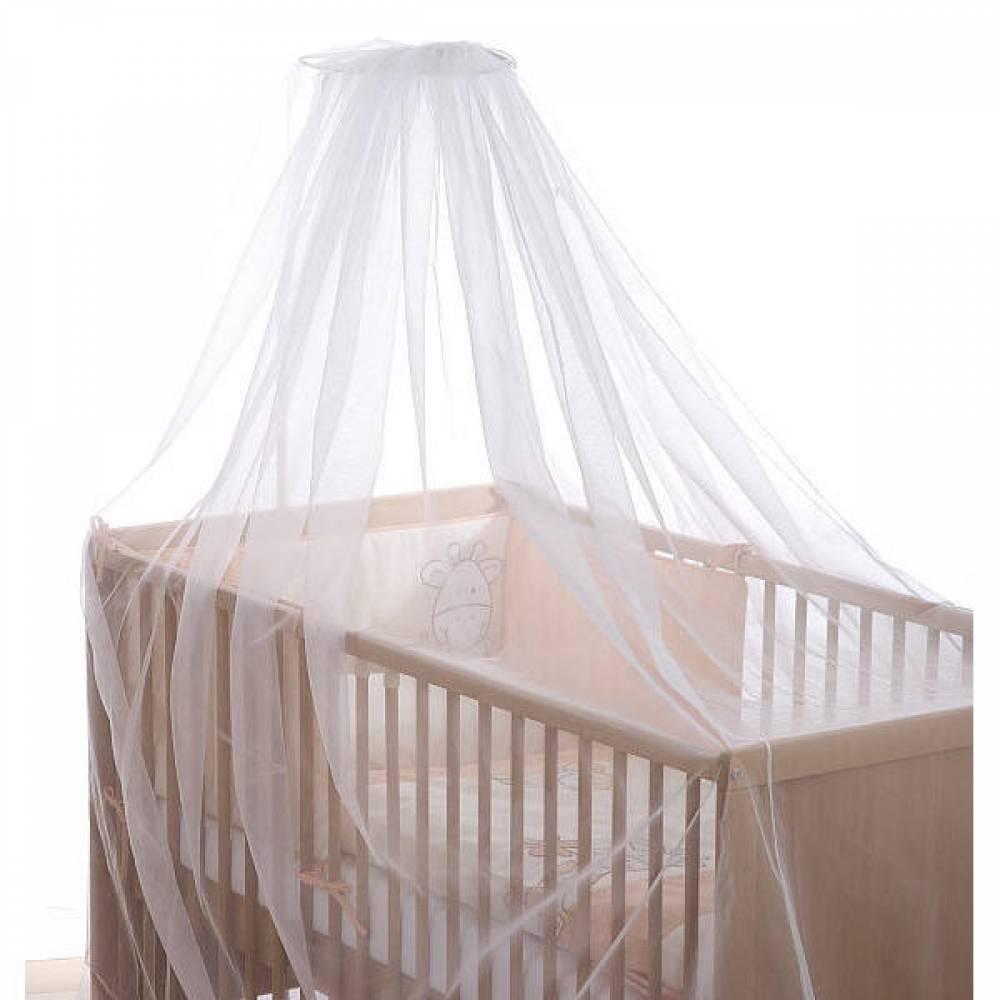 sluier hemeltje klamboe muggennet voor de baby wieg
