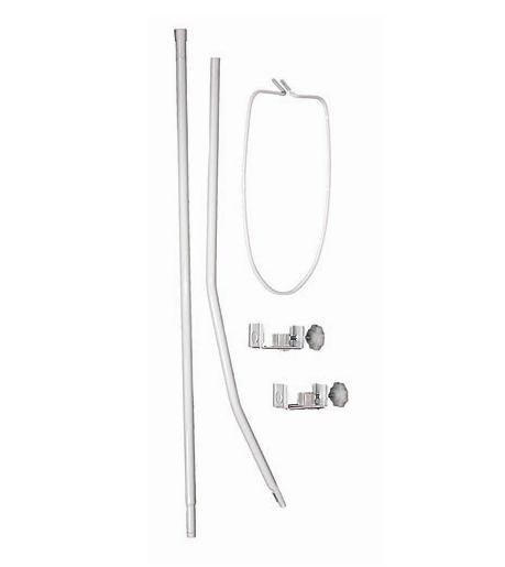 Verbazingwekkend Piekstok / hemelstang met klemmen voor wieg of ledikant YD-88